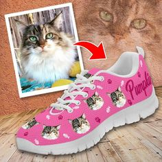 Personalize Cat Sneakers