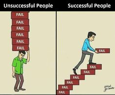It makes sense to learn and fail,because you will be perfect someone day. Those who try and fail,and also try again will be successful Invest and change your status Success Quotes, Life Quotes, Daily Quotes, Meaningful Pictures, Motivational Quotes, Inspirational Quotes, Leadership, Go For It, Startup