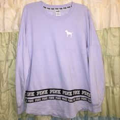 Victoria's Secret PINK long sleeve tshirt worn once, I'm selling because it's too small for me. perfect condition! Victoria's Secret Tops