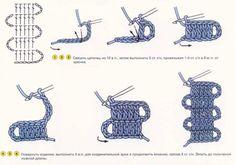 Encaje de Brujas  брюггское кружево техника вязания