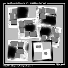 MyST AASPN Travel Template Album No. 1F