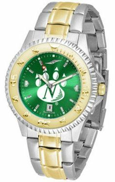 Northwest Missouri State Bearcats Competitor AnoChrome Two Tone Watch by SunTime. $100.88. The ultimate Northwest Missouri State Bearcats fan's statement, our Competitor Two-Tone timepiece offers men a classic, business-appropriate look. Features a 23kt gold-plated bezel, stainless steel case and date function. Secures to your wrist with a two-tone solid stainless steel band complete with safety clasp.The AnoChrome dial option increases the visual impact of any watch with a...