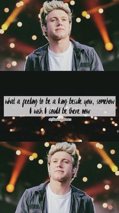 """Niall Horan """"What A Feeling"""" Lockscreen — ctto: @stylinsonphones"""