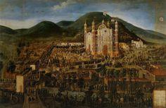 Procesión a la Basílica de Guadalupe