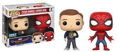 This looks great! What do you guys think? http://www.collekt.co.uk/products/spider-man-homecoming-spider-man-peter-parker-2-pack?utm_campaign=social_autopilot&utm_source=pin&utm_medium=pin #Funko #funkopop #Funkouk