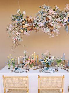 Branding Editorial Photo Shoot for Lavender Flowers in Santa Ana, California Branding Editorial Phot Floral Wedding, Wedding Colors, Wedding Flowers, Wedding Floral Arrangements, Hanging Flowers, Diy Hanging, Wedding Designs, Wedding Styles, Wedding Branding