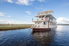 Pangolin Voyager Houseboat on the Chobe river Home And Away, Continents, Rio, Safari, Cruise, Wildlife, Africa, Around The Worlds, Boat