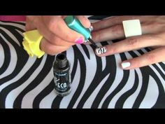 """How to make your nails """"zebralicious""""!"""