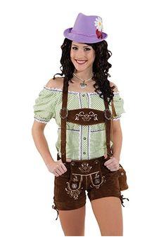 Aidot naisten Oktoberfest -shortsit
