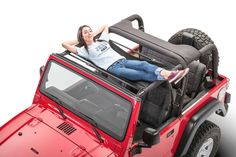 Jammock 22393 Black 2.0 Jeep Hammock for 87-17 Jeep® Wrangler YJ, TJ, Wrangler & Wrangler Unlimited JK | Quadratec