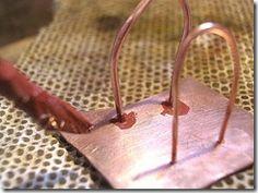 Help with silver soldering. Protect previous joins. / Evitare di dissaldare le saldature precedenti