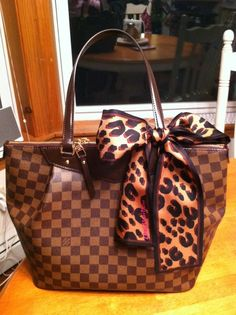 8ed3b93741c5 Westminster GM and Leopard Scarf. Crystal Merrick · Louis Vuitton