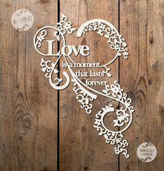 SVG / PDF Love is a moment Design by TommyandTillyDesign on Etsy