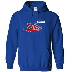 I Love Team Sato T shirts