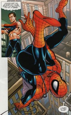 Web slinging in Spider-Man Chapter One