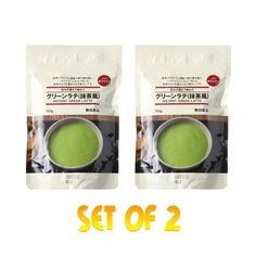 MUJI  Instant Green Latte MATCHA x 2 Packs Imported by SAIKO JAPAN -- See this great product.-It is an affiliate link to Amazon.