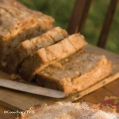 Gooseberry Patch Recipes: Eggnog Quick Bread from Coming Home for Christmas Cookbook