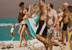 Eric Fischl (1948-) The Parade (2006)