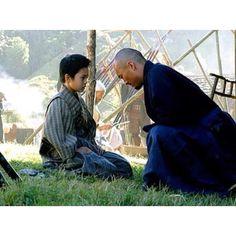 The Last Samurai, with Ken Watanabe.