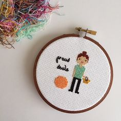 New to clothandtwigshop on Etsy: Best Doula | Doula Gift | Doula | Custom Cross Stitch | Custom Gift | by Cloth & Twig Shop (35.00 USD)