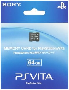 Amazon.com: PlayStation Vita Memory Card 64GB (PCH-Z641J): Video Games  More than one is OK! :D