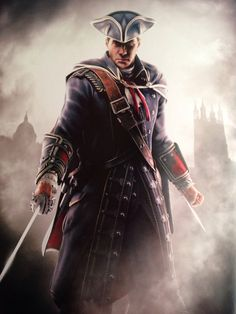 Haytham kenway at his hottest