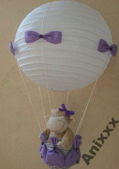 Lampa latający balon z misiem GRATISY