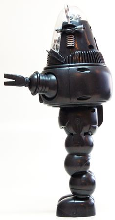 Robby the Robot, Profile view Vintage Robots, Retro Robot, Retro Toys, Great Sci Fi Movies, The Invisible Boy, Mr Roboto, Dave Stevens, Robby The Robot, Anne Francis
