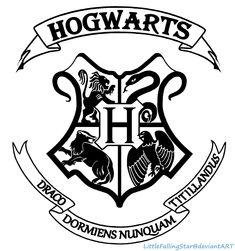 Hogwarts Crest by LittleFallingStar.deviantart.com on @deviantART