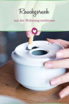 Rauchgeruch aus der Wohnung entfernen: Mit diesen #Tricks geht´s ganz einfach.