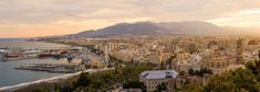 #buildings #city #coastal #costa #downtown #europe #european #evening #hill #malaga #morning #mountains #ocean #panorama #panoramic #port #scene #scenery #sea #spain #spanish #sunrise #sunset #town #twilight #views