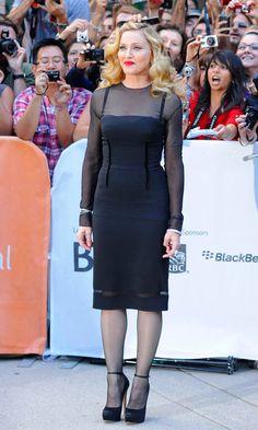 Madonna asiste a una proyección de WE en el Festival de Cine de Toronto, 2011