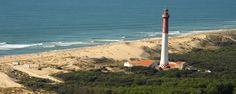 Charente Maritime : Phare de la Coubre (phare à terre - La Tremblade)