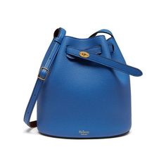 Shop the Abbey in Porcelain Blue & Oxblood Small Classic Grain Leather at Mulberry.com. The Abbey is a traditional 'bucket bag' with drawstring detailing, contrast lining and a range of eye-catching or iconic leather finishes. The Abbey features the iconic postman's lock as a nod to Mulberry's heritage DNA, securing a simple belt closure on a timeless, easy to wear style.