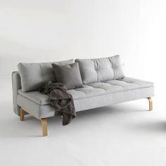 Dual Sofa, Oak
