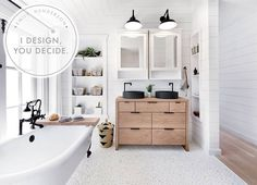 I Design, You decide: Pebble Tile for the Mountain Fixer-Upper: A POLL!!