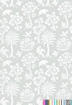 Swanson Tropical Wallpaper  [PRS-85712] Concourse D'Elegance Collection | DesignerWallcoverings.com | Luxury Wallpaper | @DW_LosAngeles | #Custom #Wallpaper #Wallcovering #Interiors