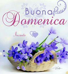 Buongiorno Buona domenica Italian Greetings, Sunday Greetings, Happy Weekend, Happy Sunday, Italian Memes, Good Morning, Place Card Holders, Anna, Mary