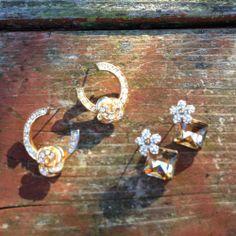 Pave Diamond Earring Bundle - $19