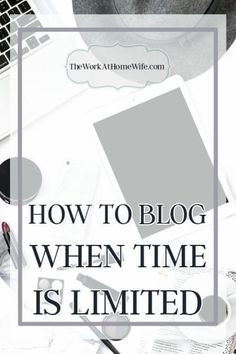 Blogging is a great way to make money from home. But blogging requires time. And time is something many of us have in short supply.