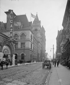 1906 Brooklyn Post Office and Eagle Building