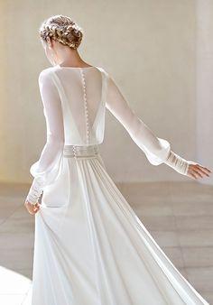Lace Wedding Dress, Stunning Wedding Dresses, Wedding Dresses Photos, Wedding Dress Trends, Long Sleeve Wedding, Modest Wedding Dresses, Perfect Wedding Dress, Bridal Dresses, Wedding Gowns