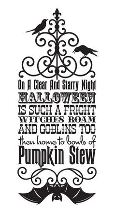 like the styling and font for halloween card