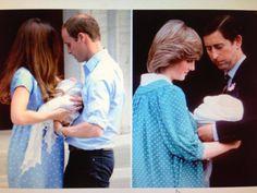 Princess Catherine/Prince William & Princess Diana/Prince Charles