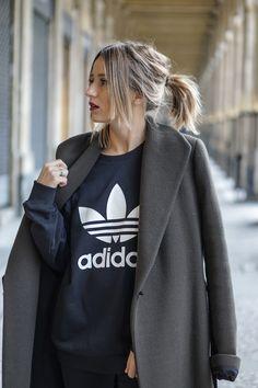 Sweatshirt khaki army Adidas