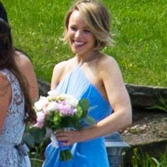 What a gorgeous bridesmaid—and bride! Rachel McAdams was there for sister Kayleen McAdams's weddi...