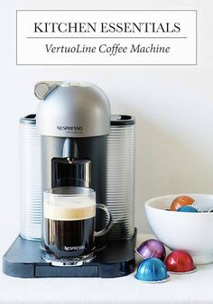 Ideal for everything from hot and cold coffee to espresso creations, Nespresso's VertuoLine Coffee Machine would be a wonderful addition to your kitchen gadget collection.