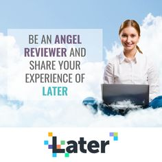 Later is a social media scheduling tools that claims to be the #1 visual marketing platform for Facebook, Twitter, Instagram and Pinterest. Later helps streamline your social media strategy so you can set yourself up for more sales and success. Their features focus on visual scheduling, media management, marketing and analytics. Is Later something you've used? If so, we'd love to read your review on Angel Rated. #review #later #onlinebusiness #onlinemarketing #smm Business Products, Online Business, Social Media Scheduling Tools, Business Mission, Competitor Analysis, Social Media Influencer, For Facebook, Life Purpose, Top Rated