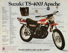 Suzuki TS-400 Apache