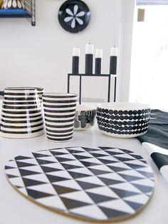 Via Mammatamo | Formverket Cutting Board | By Lassen Candle Holder | Marimekko Bowl